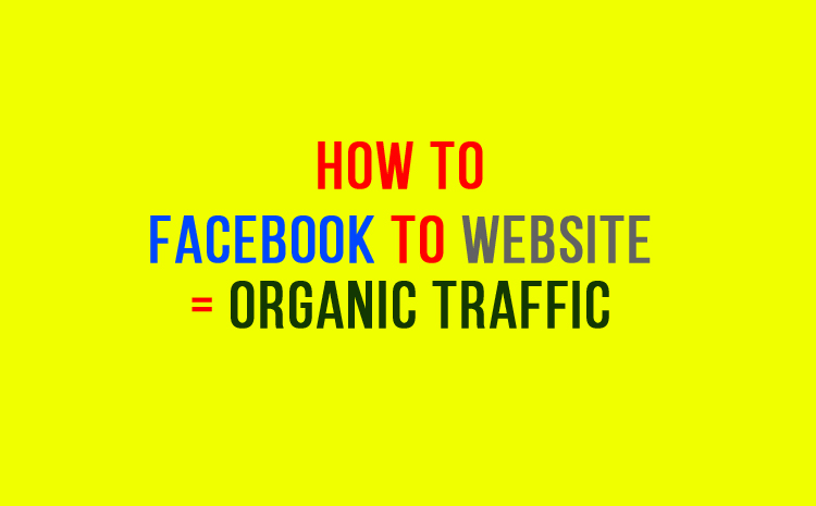 Visitors From Facebook But Read Organic
