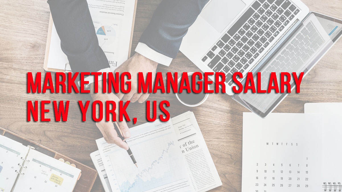 Marketing Manager Salary  in New York City, US