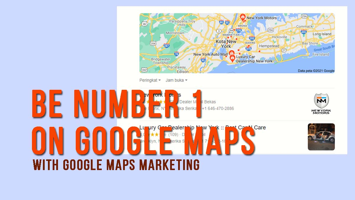 Google Maps Marketing Demo – How To be Number 1 on Google Maps